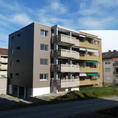 Gebäudemodernisierung mit Konzept