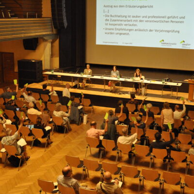 Delegiertenversammlung ganz im Zeichen des klimaneutralen Wohnens