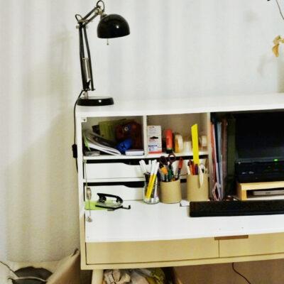Homeoffice und nirgends Platz für einen Schreibtisch