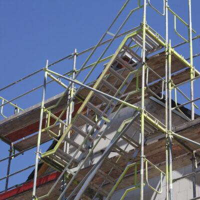 Ist ein Baugerüst Grund für eine Mietreduktion?