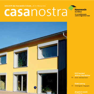 casanostra 87 | Februar 2008