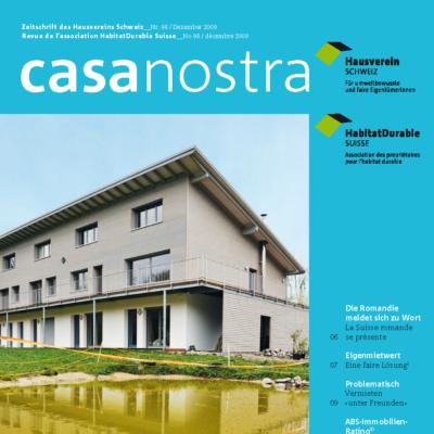 casanostra 98 | Dezember/décembre 2009