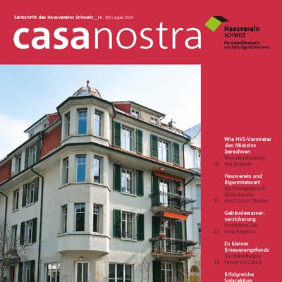 casanostra 100 | April 2010