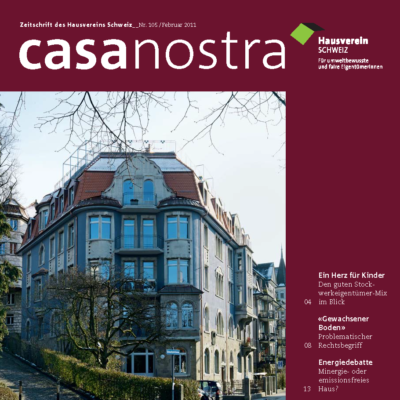 casanostra 105 | Februar 2011