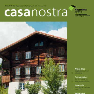 casanostra 115 - Oktober 2012