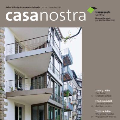 casanostra 116 - Dezember 2012