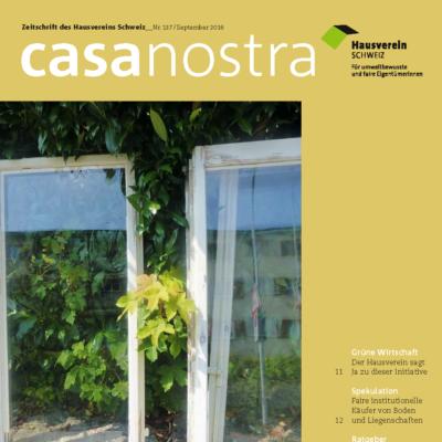 casanostra 137 | September 2016