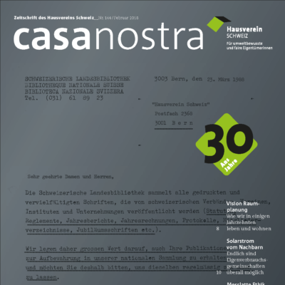casanostra 144 | Februar 2018