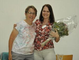 Hildegard Fässler und Claudia Friedl