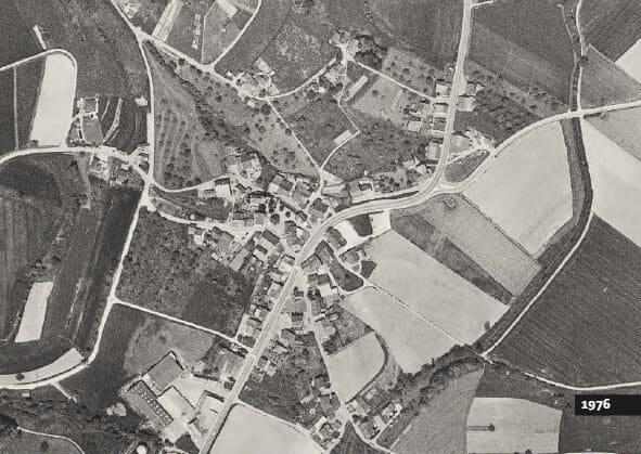 Lufingen, Nähe Kloten 1976