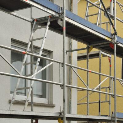 Fassadendämmung und PV-Fassade