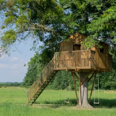 Bewilligungspflichtige Baumhütte?